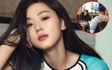 Ông xã Jun Ji Hyun gây chú ý khi diện đồ xì tin đưa vợ bầu đi ăn nhà hàng