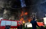 Phó Chủ tịch TP.HCM, Giám đốc Cảnh sát PCCC ra hiện trường chỉ đạo chữa cháy nhà máy nhựa