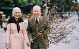 Nụ cười của cặp vợ chồng 90 tuổi giữa vườn hoa khiến bao người xao xuyến