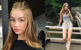 Hot girl nhà người ta: 15 tuổi cao 1m70, dáng chuẩn và mặt xinh như búp bê!