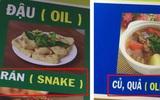 Thực đơn hot nhất Facebook hôm nay: Google dịch tên món ăn Việt - Anh sai be bét khiến người xem không nhịn được cười