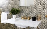 Phòng tắm nhỏ đẹp ấn tượng với 3 kiểu trang trí theo phong cách Art Deco