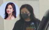 Sau scandal nợ nần, Triệu Vy đầu bù tóc rối, mệt mỏi đưa con gái đi học