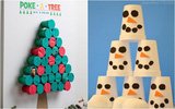 8 trò chơi vừa vui vừa dễ làm cha mẹ có thể tự thiết kế cho con chơi trong mùa Giáng sinh
