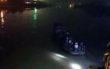 Yên Bái: Ô tô con rơi xuống sông Hồng, 2 cán bộ thuộc Bệnh viện Đa khoa Yên Bái tử vong trong đêm