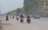 Hà Nội: Bịt mũi, nhắm mắt đi trên đường đẹp nhất Thủ đô vì bụi như sương mù