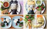 Bà mẹ khéo tay nhất năm biến những bữa ăn của con thành thế giới hoạt hình đầy màu sắc