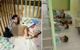 Bức ảnh trẻ em phải nằm đất, ăn hoa quả thối và thậm chí là phân gây phẫn nộ tại Trung Quốc