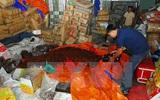 Hơn 5 tấn mứt 'bẩn' chuẩn bị bán ra thị trường