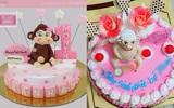 Bỏ 350 nghìn mua bánh sinh nhật hình khỉ, mẹ trẻ giận tím người nhận về chiếc bánh hình