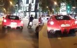 Hà Nội: Siêu xe phóng nhanh, lạng lách giữa đường khiến nhiều người khiếp sợ