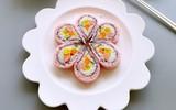 Làm sushi hoa anh đào đẹp mắt ngon miệng nhìn thôi đã mê