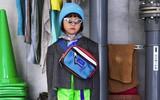 Fashionista 7 tuổi người Nhật từng gây sốt nay còn tự mix đồ hiệu