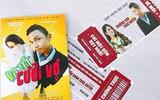 Đạo diễn 9X làm thiệp cưới xịn như poster và vé mời xem phim