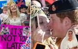 Trước giờ G, fan cuồng từng nhiều lần cầu hôn thậm chí cưỡng hôn Harry vẫn mong Hoàng tử hồi tâm chuyển ý