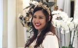 Con gái cao 1m78, xinh như hoa hậu của NSƯT Hồng Vân lên xe hoa cùng bạn trai 6 năm