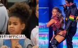 Khoảnh khắc dễ thương gây sốt: Con gái Beyoncé xấu hổ che mặt khi thấy bố mẹ diễn sexy với nhau