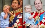 Chùm ảnh: Xem những khoảnh khắc này mới thấy Hoàng tử William và tiểu Hoàng tử George đúng là