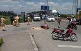 Đi khám bệnh về nhà, mẹ tử vong, con trai 4 tuổi nguy kịch sau va chạm với xe tải ở Sài Gòn