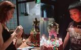Subeo chững chạc trong tiệc sinh nhật 8 tuổi bên mẹ Hồ Ngọc Hà và người thân
