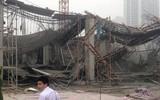 Hiện trường vụ sập giàn giáo ở Hà Nội làm 3 công nhân tử vong