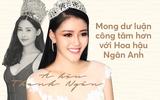 Á hậu Thanh Ngân lên tiếng bênh vực Hoa hậu Đại dương: Mong dư luận công tâm với Ngân Anh