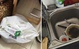 Ông chồng ở bẩn nhất năm, gọi vợ từ quê lên để dọn hộ đống rác mình bày ra