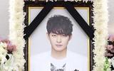 Lặng người xót xa trước di ảnh của em trai Ha Ji Won ở nhà tang lễ