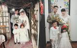 """Có ai """"đỉnh"""" được như cặp đôi dành 6 tháng để """"hoá thân"""" thành bố mẹ trong đám cưới năm 1978 và 1992 từ chính hôn lễ của mình?"""