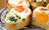 Bữa sáng tuyệt ngon với món bánh trứng kiểu Hàn Quốc