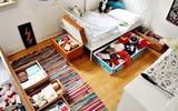 Giải pháp lưu trữ thiết thực cho phòng ngủ của bé