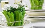 Đã mắt với cách trang trí bàn ăn từ rau củ vô cùng độc đáo