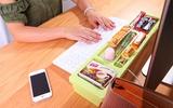 4 phụ kiện lưu trữ tiện ích cho bàn làm việc của nàng công sở