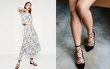 5 gợi ý giúp kéo dài đôi chân khi diện giày bệt cùng váy ngắn dành cho nàng
