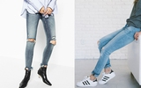 8 kiểu giày giúp bạn dễ dàng biến hóa skinny jeans theo nhiều phong cách