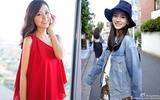 Chấm điểm phong cách bầu bí của hai bà bầu hot nhất Hoa Ngữ: Angela Baby và Lâm Tâm Như