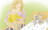 Clip: Mách mẹ cách đặt trẻ sơ sinh để bé ngủ ngoan và an toàn trong cũi