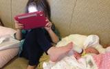 Hành động khiến bố mẹ cười ra nước mắt chỉ lũ trẻ mới nghĩ ra