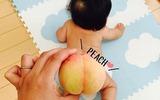 Sau má nắm cơm và tay bánh mì, mẹ Nhật lại rộ lên trào lưu khoe ảnh con mông trái đào