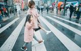 Cùng nhau đi trốn - Bộ ảnh xinh ơi là xinh của mẹ và con gái chụp ở Hàn Quốc