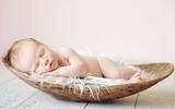 Quá ngọt ngào với chùm ảnh bé sơ sinh ngủ