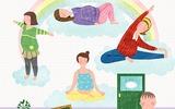 Những tư thế yoga cho bà bầu đánh bay mọi rắc rối thai kì