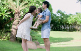 Hotgirl Minh Hà - bà mẹ mát tay nuôi dạy 2 bé con xinh đẹp
