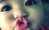 Thưởng thức những nụ hôn ngọt ngào từ con yêu