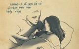 Lặng người với câu chuyện buồn trong bộ tranh gây sốt Nhật ký của mẹ