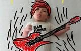Những nét vẽ cực sáng tạo về con của một bà mẹ trẻ