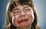 Chùm ảnh đáng yêu: Không thể cầm lòng khi con khóc