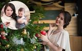 Á hậu Thụy Vân: Giảm 10kg sau sinh chỉ trong vòng một tháng rưỡi