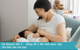 10 lời khuyên cho con bú từ những bà mẹ dày dạn kinh nghiệm