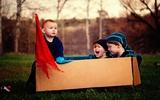 Bộ ảnh đầy cảm hứng mẹ chụp cho 3 con trai